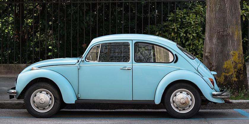 gammel bil